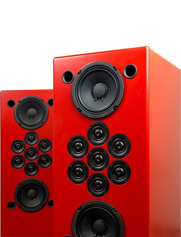 Tekton Design Double Impact Hi-Fi Loudspeaker - Upper Detail