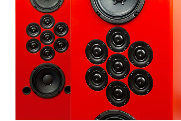 Tekton Design Double Impact Hi-Fi Loudspeaker - Tweeter Detail