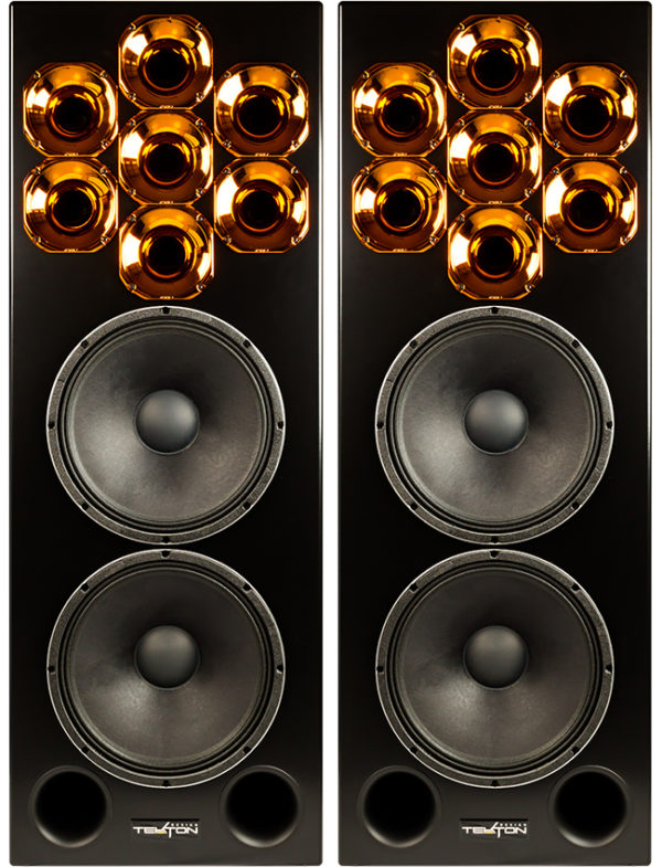 Tekton Design Polycell 15 Hi-Fi Loudspeaker - Pair Front