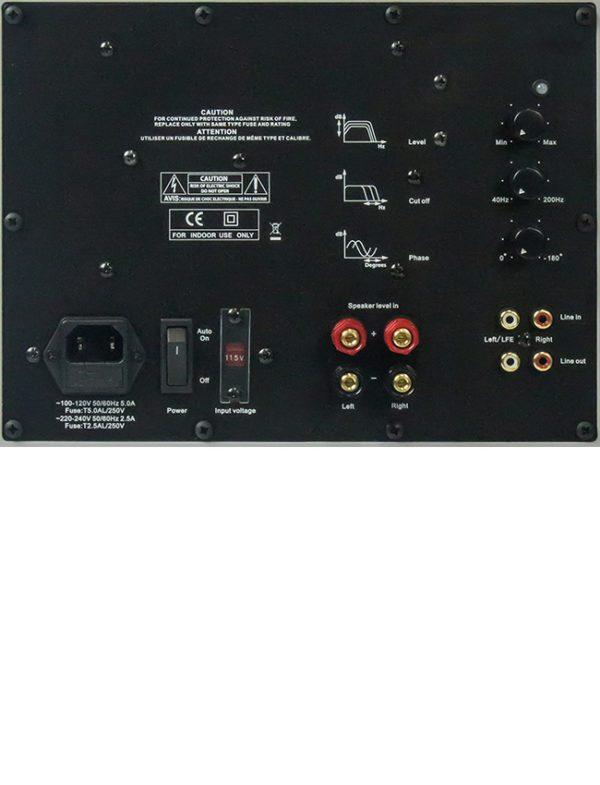 Tekton Design 2-10 Subwoofer Hi-Fi Loudspeaker - Amp Plate