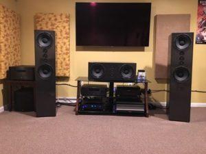 Black High Gloss Pendragon Loudspeakers