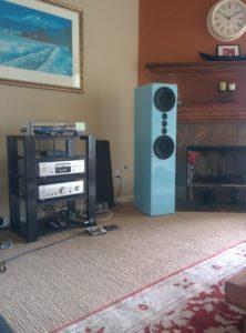 Custom Color High Gloss Pendragon Loudspeakers
