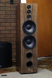 Wood Veneer Enzo XL Loudspeakers
