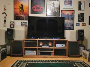 Black Mini Lore Monitor Loudspeakers